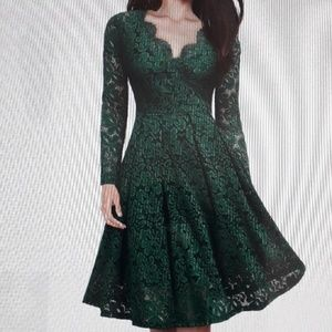 NWT Women's floral lace cocktail party Dress